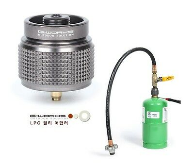 G-WORKS LPG Multi Adapter & Gas Inflation Kit