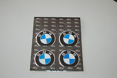 BMW Alloy Metal Wheel Center Badge Sticker Logo 60mm
