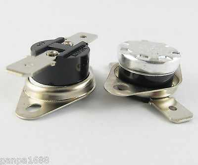1pc KSD301 Normal Close N.C. 10A 250V Thermostat Bimetal Disc Temperature Switch