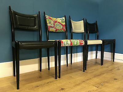 G Plan E Gomme Librenza 1950s dining chairs x 4 vintage retro - ideal to refurb