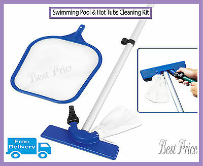 All Pool Maintenance Kit, Swimming Outdoor/Indoor Pool Cleaning Set