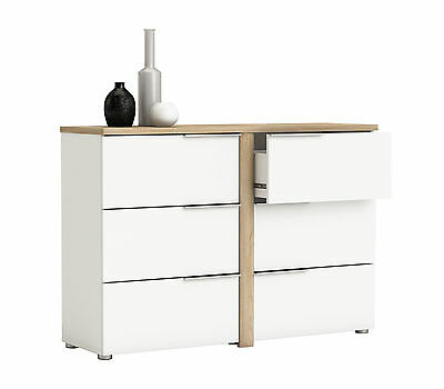 kommode anrichte schubladenkommode w schekommode sideboard wei schrank regal eur 139 99. Black Bedroom Furniture Sets. Home Design Ideas