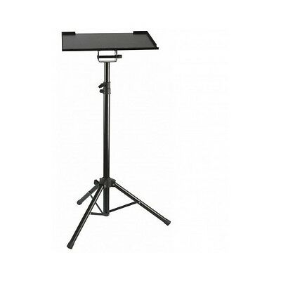 Laptop Stand Holder Adjustable Steel Working Height Portable Tripod Projector