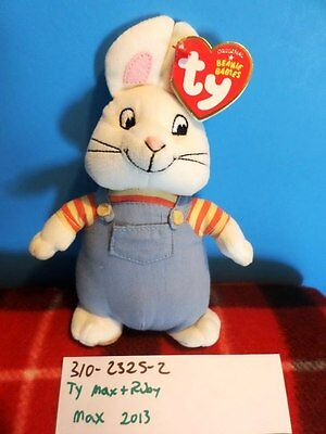 "Ty Max and Ruby ""Max"" 2013 bean bag plush (310-2325-2)"