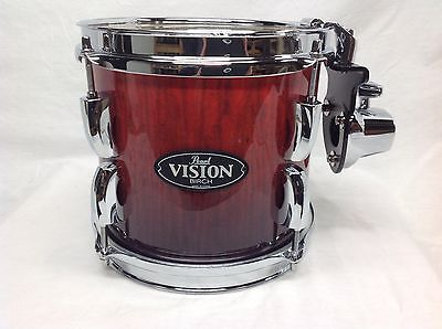 "Pearl Vision VBA 8"" Mounted Tom/Ruby Fade Eucalyptus/#486/Brand New"