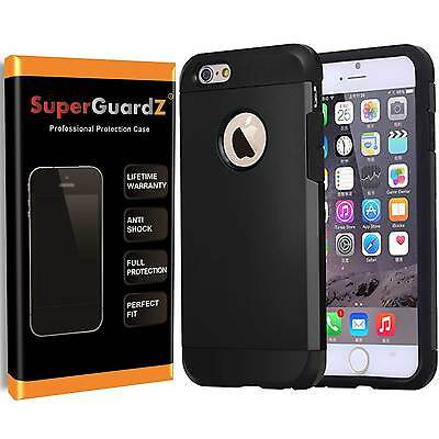 2X SuperGuardZ® Heavy-Duty Shockproof Protective Cover Case Armor For iPhone 7