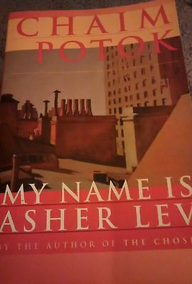 My name is asher lev by potok chaim 995 picclick my name is asher lev by chaim potok 1996 paperback fandeluxe Gallery