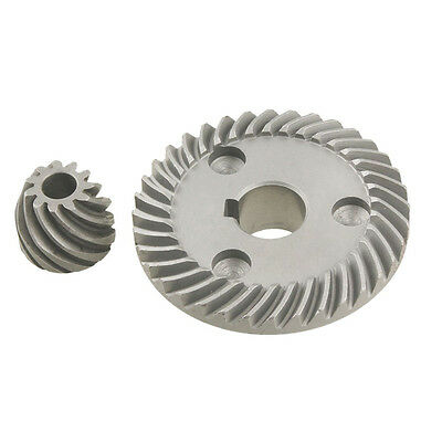 2 Pcs Replacement Spiral Bevel Gear for Makita 9553 Angle Grinder H1