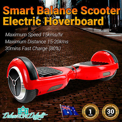 NEW CERTIFIED Two Wheel Electric Glide Balance Board Scooter 20 Kms, 15 km/hr