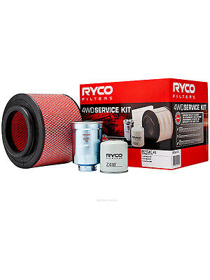Ryco Heavy Duty Service Kit [FOR: FORD RANGER PJ] (RSK4)