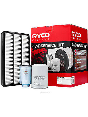 Ryco Heavy Duty Service Kit [FOR: MITSUBISHI PAJERO NT] (RSK8)