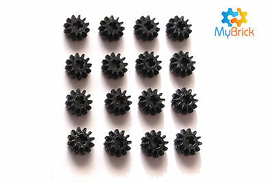 16x Lego 12 tooth beveled Gears -  32270