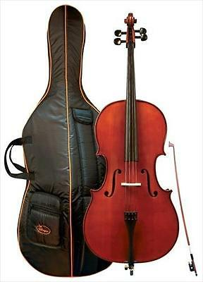 Gewa Cello Outfit Allegro 4/4 Full Size + Padded Case + Bow **NEW**