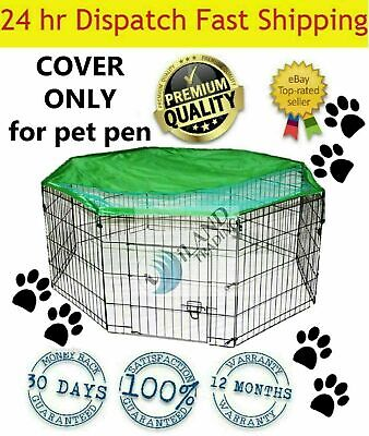 COVER ONLY for 8 Panel Pet Dog Playpen Exercise Cage Puppy Enclosure Cat Rabbit