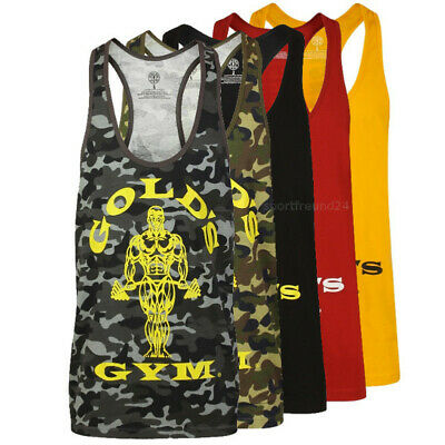 Gold´s Gym Muscle Joe Premium Tank Top Fitness Sportswear Bodybuilding Golds Gym