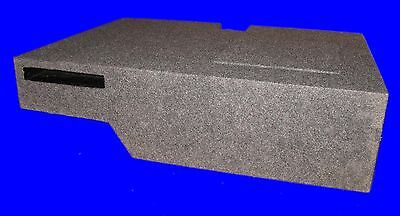 """Toyota Tundra Double Cab 2007-14 Sin 12"""" Ported Down Fire Grey Subwoofer Box"""