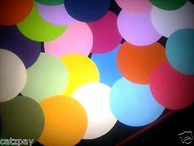 100 Martha Stewart circles Scrapbooking Cardstock Paper Punches / Punchies