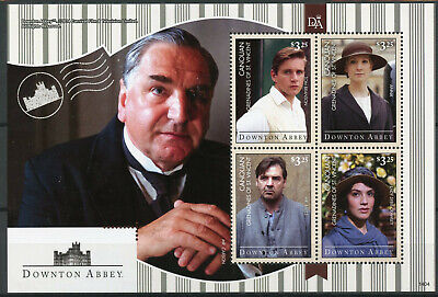 Canouan Gren St Vincent 2014 MNH Downton Abbey 4v MS Carson Sybil Crawley Stamps