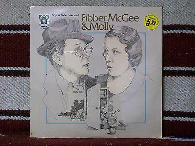 FIBBER McGEE & MOLLY - ORIGINAL RADIO BROADCAST from 1948 &1949 NM cond. unopen!