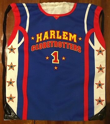Harlem Globetrotters Basketball Team Carry Bag in the shape of a jersey