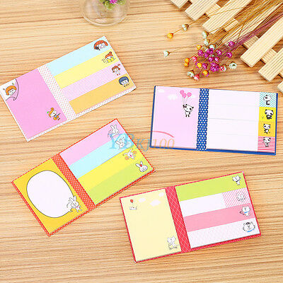 New Stick-On Note Pads Sticky Notes Four Optional Colorful Design 25 Count