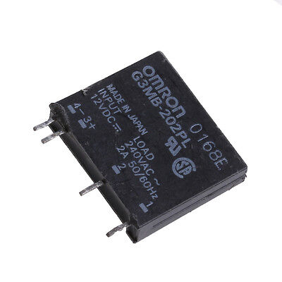 1Pc Hot Solid State Relay G3MB-202P DC-AC PCB SSR In 12V DC Out 240V AC 2A