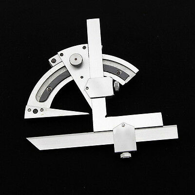 320 Degree Universal Bevel Protractor Angular Dial Measuring Inner&Outer Angle