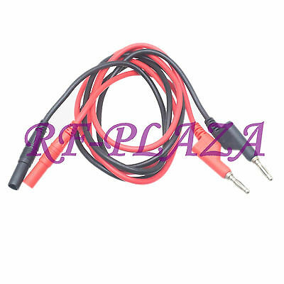 Cable High current Injection banana male plug to female jack Test Probe Leads 1M