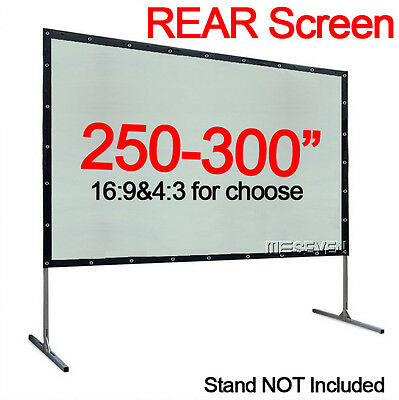 Larger Size Behind Back Rear Projection Screen Film for Outdoor Movie Projectors