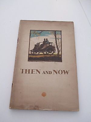 RARE -Then and Now Motoring Magazine - Shell & BP 1930