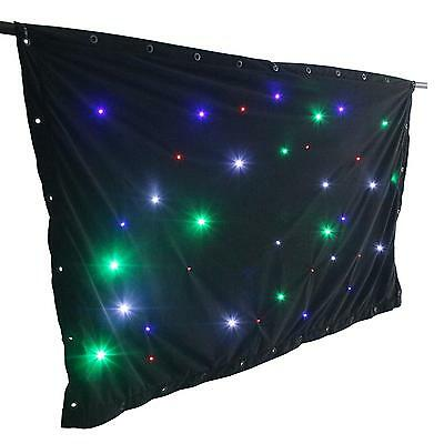 Sparkelwall Led Curtain Backdrop Stage Lighting Dmx Controller Remote *free P&p*