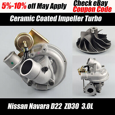 HT12-19 Upgraded Turbo Charger for 14411-9S000 NISSAN Navara Turbo D22 ZD30 3.0L