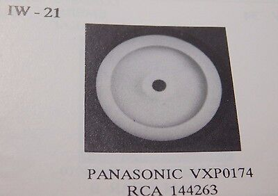 IDLER WHEEL / IW21 /  PANASONIC VXP0174 / RCA 144263 / 2 PIECES (qzty)