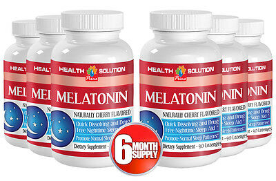 Pineal Hormone - MELATONIN 3MG - Does Not Create Negative Feedback 6B