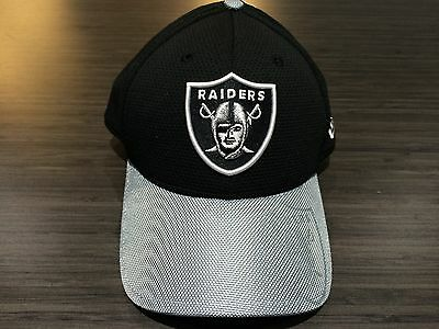Cap Hat Oakland Raiders New Era 2016 NFL Sideline 39thirty Flex Fit L/XL