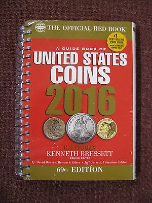 NEW - 2016 Whitman Red Book of US Coins- 69th Edition - Spiral