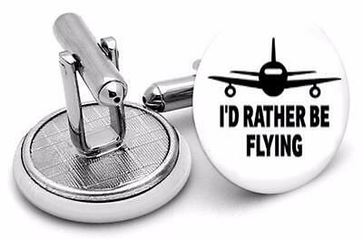 Aviators Rather be Fly cufflinks  Mens Cufflinks ,Brithday  Gifts Cufflinks typ6