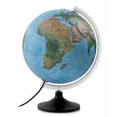 NEW World Globes - Educational Solid R Relief