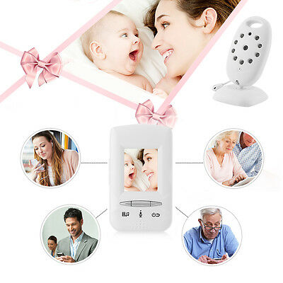 2.4GHz Wireless Digital LCD Color Baby Monitor Camera Night Vision Audio Video88