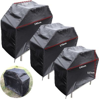 Large BBQ Cover Heavy Duty Rain Snow Waterproof Barbeque Grill Protect 170/190cm
