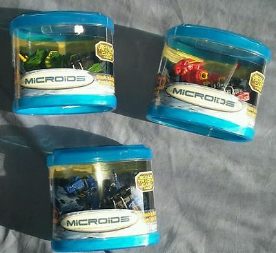 Tomy Microids - Lot of 3 Different Remote Controlled Toys. Brand New & Rare.