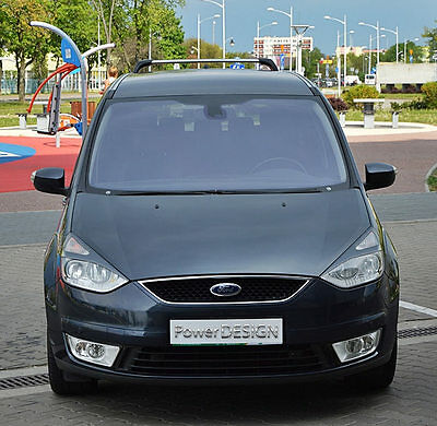 Eyebrows for FORD GALAXY MK2 / S-MAX 2006+ headlight eyelids lids ABS Plastic