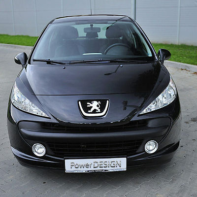 Eyebrows for PEUGEOT 207 2006-2012  headlight eyelids lids ABS Plastic