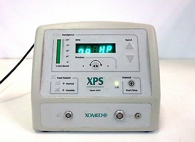 Xomed XPS 2000 MicroResector Console 18-96100 Medical