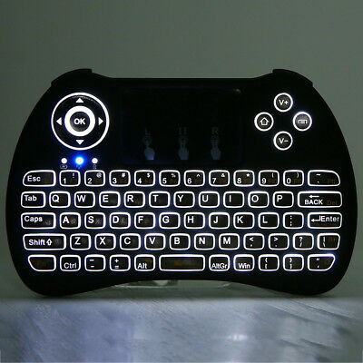 Mini H9 Handheld Wireless Keyboard Air Mouse Combo with Backlight for TV Android