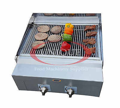 2 Burner Commercial BBQ Grill Charcoal Grill Char grill Heavy Duty