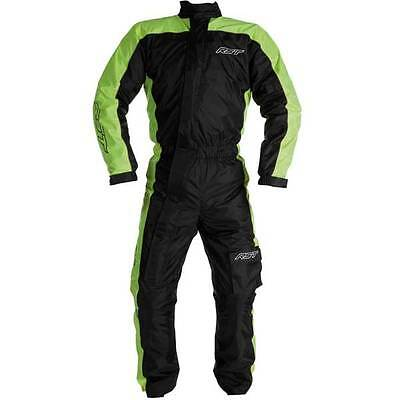 RST Motorcycle Motorbike Fluo Yellow Waterproof Over Suit   All Sizes