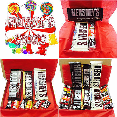 Hershey's American Chocolate Candy Gift Box Hamper Foods Imported Hershey Bar