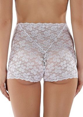 Ladies White Lace Knickers Pants Panties Briefs Boxer Shorts Size 12 - 24