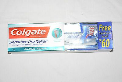 Colgate Sensitive Pro-Relief Toothpaste 70 g Toothbrush Free